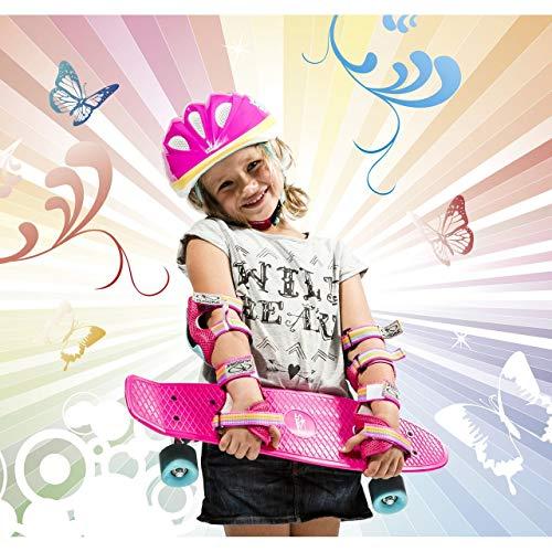 HUDORA Protektoren Kinder Skate Wonders, Protektoren-Set Inliner, Gr. S, 83317 - 2