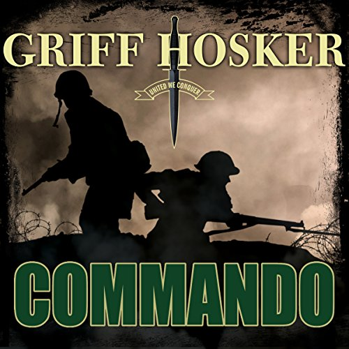 Commando audiobook cover art