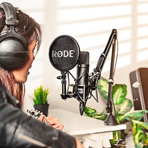 Rode NT1 Kit Large-Diaphragm Cardioid Condenser Microphone