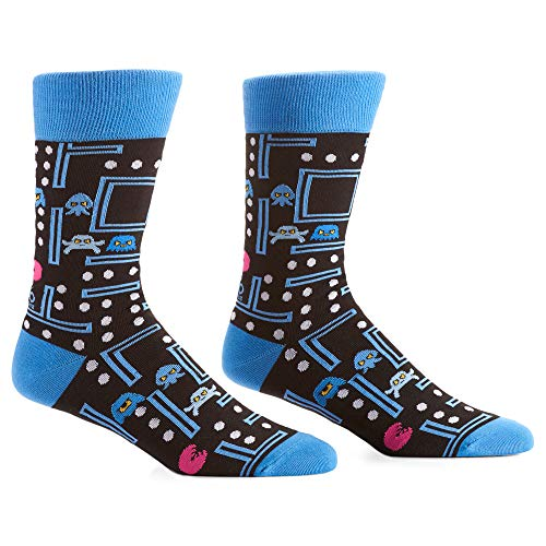 Pac-Man Men's Crew Socks, Size 7-12
