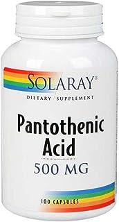 Solaray - Pantothenic Acid 500 Mg. 250 Capsules 83961