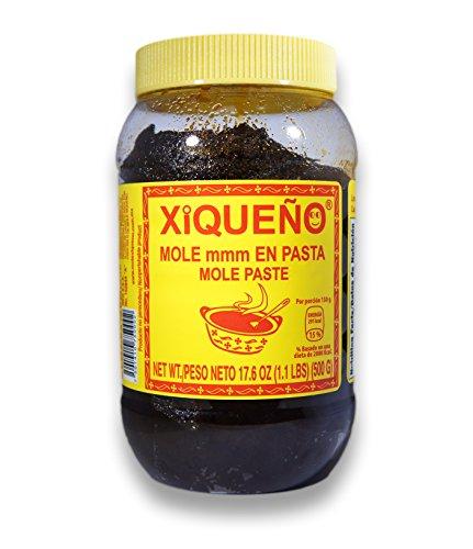 MOLE XICO 1.1 Lbs.  500 grs. MOLE PASTE 5 - 6 SERVINGS JAR! Mole Paste!
