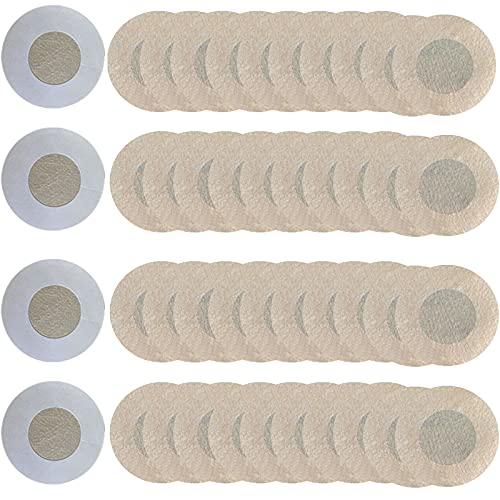 YMIFEEY 40 pezzi Copricapezzoli invisibili adesivi monouso per capezzoli traspiranti per uomini e donne Copricapezzoli adesivi per capezzoli, 20 paia (Non tessuto)