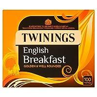 トワイニングイングリッシュブレックファーストティーバッグパックあたり100 - Twinings English Breakfast Tea Bags 100 per pack [並行輸入品]
