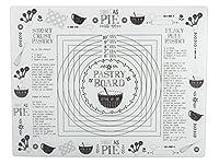 Creative Tops Bake Stir it Up Protezione per superfici, Vetro temprato, Bianco