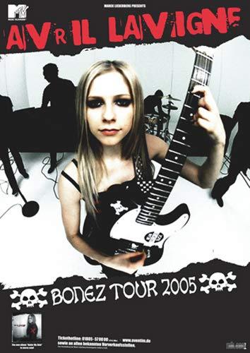 Avril Lavigne - Bonez 2005 - Poster, Concertposter, Concert