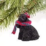 1 X Cocker Spaniel Miniature Dog Ornament - Black by Conversation Concepts