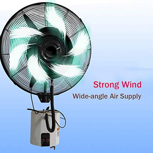 N / A Oszillierende Wasser Beschlagen Fan, Große Indoor/Outdoor Wand- Misting-Ventilator, Industrie Spray Save Energy Quiet Pinnwand Fan, 28 / 31inch,71CM / 28in