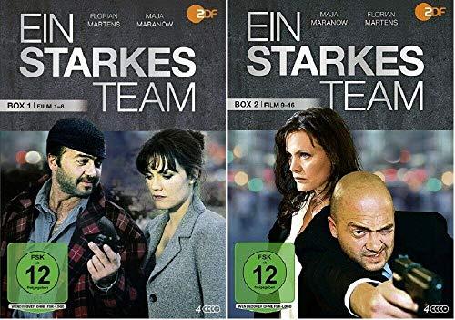Ein starkes Team - Box 1+2 (Filme 1-16) (8 DVDs)