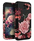 TIANLI Samsung Galaxy J7 2017 Case Cute Flowers for Girls/Women Smooth Surface...