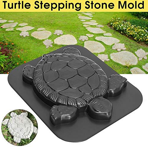 szdc88 Schildkrötenform-Sprungbrett-Form,Schildkröten-Beton-Zement-Form-Weg-Hersteller,DIY personifizierter manueller Garten-Rasen-Pathmate-Pflasterstein-Pflasterstein