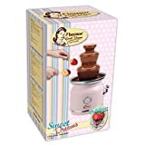Bestron Schokoladenbrunnen im Retro-Design mit 3 Etagen, Sweet Dreams, 90 Watt, Rosa - 6