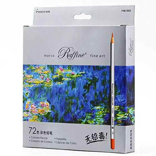 Buntstift, 36 Farben, 48 Farben, 72 Farben, Anfänger, Erwachsene, handbemalte Mine, ölige Kunst Farbmalerei