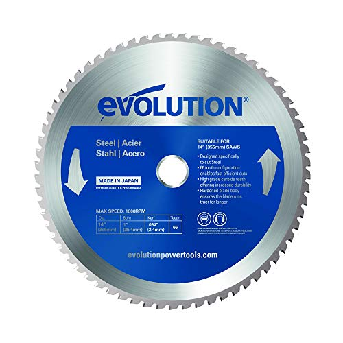 Evolution RAGE Diamond Circular Saw Blade 210 mm Cutting Tiles Slate Hardened