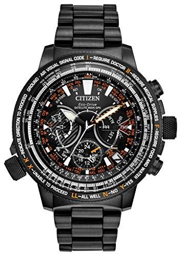 Citizen CC7015-55E Satellite Wave Promaster Sky 30e verjaardag GPS-Timekeeping Super Titanium horloge