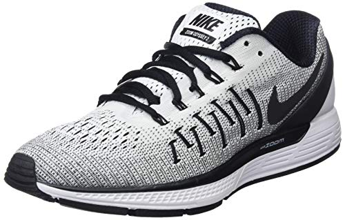 NIKE Men's Air Zoom Odyssey 2 White/Black Running Shoe 12 Men US