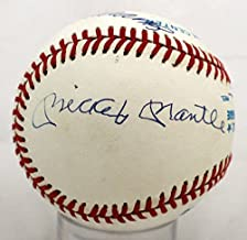 Mickey Mantle Joe Dimaggio Ted Williams Autographed Signed Baseball - JSA Certified