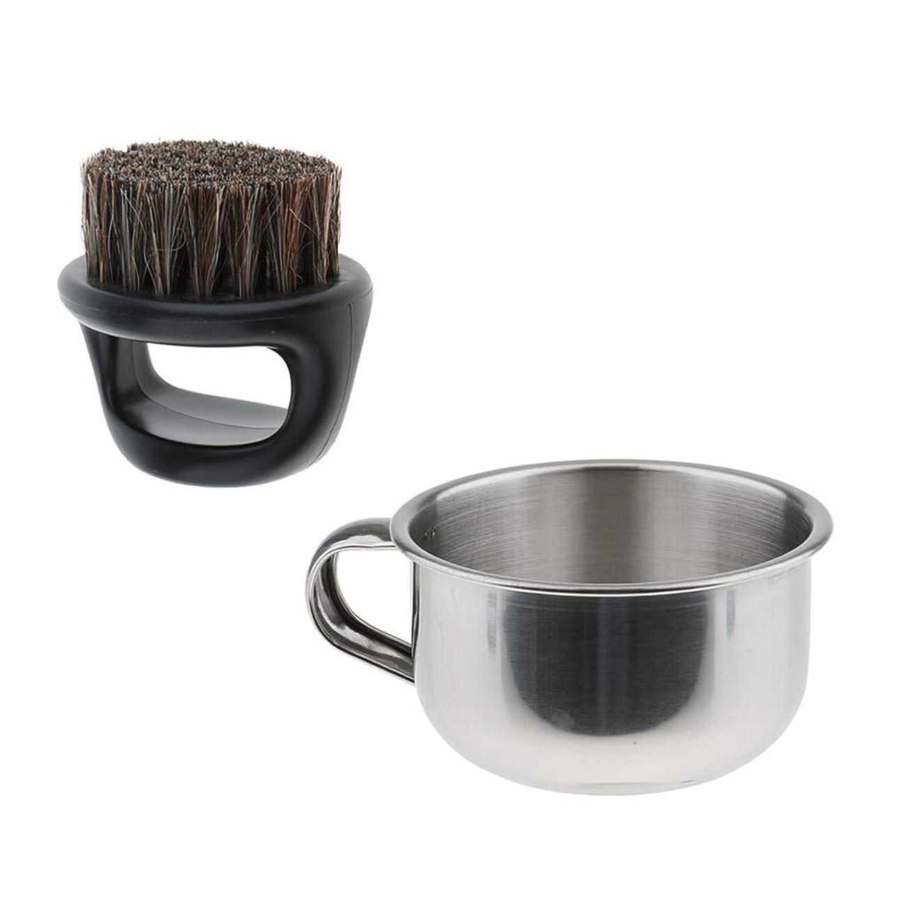 多数の白菜フロンティアD DOLITY シェービングブラシ ボウル 髭剃り