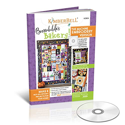 Kimberbell Featured Quilt Machine Embroidery (Broomhilda's Bakery, 52