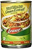 Erasco Westfälischer Linsen-Eintopf mit Essig, 6er Pack (6 x 400 g)