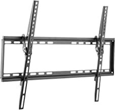 Cmple - Tilt TV Wall Mount Bracket for 37-70 Inches TVs, LED, LCD Flat Screens, Tilting TV Mount 8 Degrees for Anti-Glaring, Low Profile & Space Saving Mount with maximum VESA 600x400 and 77lbs - 35kg