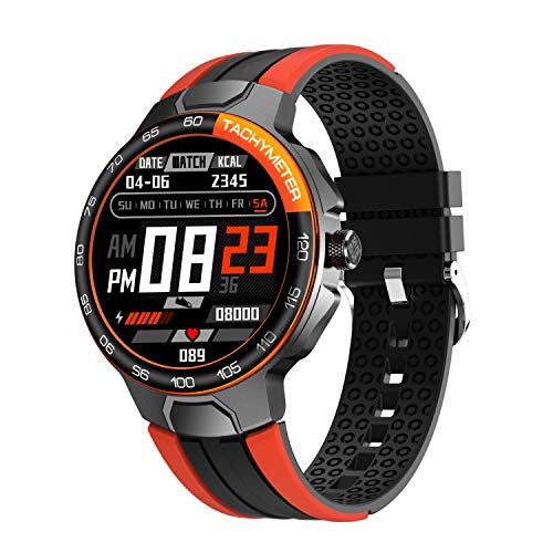 Smart Watch, Watches for Men Women, Fitness Tracker with Heart Rate Monitor, IP68 Waterproof Pedometer Smartwatch with Sleep Monitor, 24 Sports Modes Compatible for iPhone Android Phones
