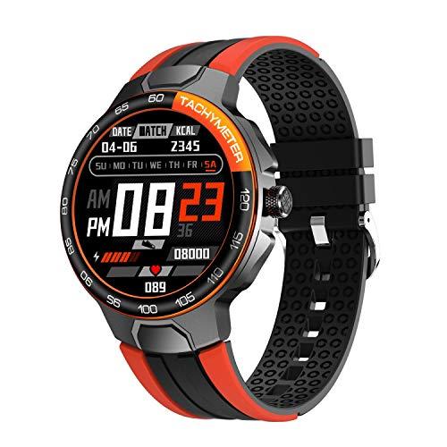 Smartwatch Uomo Donna con Cardiofrequenzimetro del Sonno, Orologio Fitness con 24 Modalità di Esercizio, Fitness Tracker Contatore di Calorie Impermeabile IP68 per Android iOS