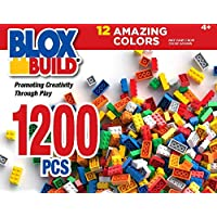 Build 'N Blox 1200-Piece Building Blocks Set