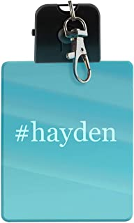 #hayden - Hashtag LED Key Chain with Easy Clasp