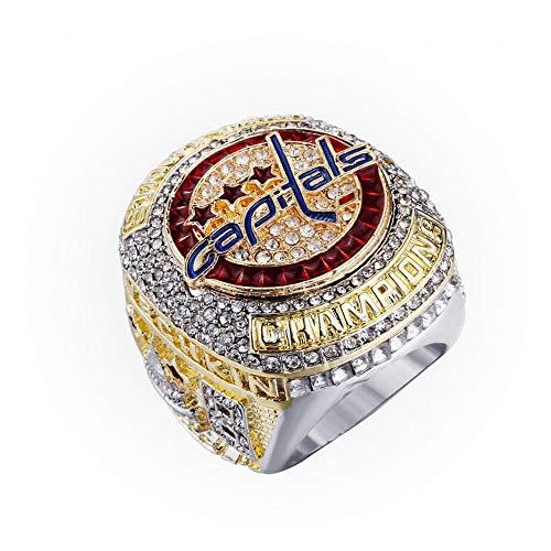 MDDCER Eishockey-Meisterschaft-Ring American Football 2018 Washington DC Stanley Cup-Sammlung Souvenirs Fans Geschenk Schmuck 13