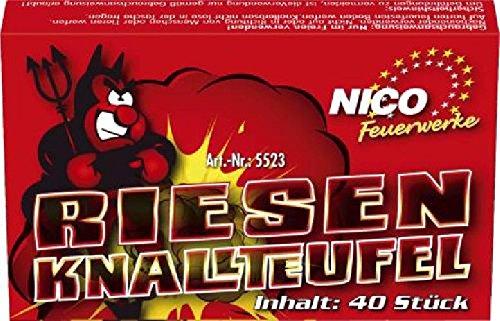 Jugendfeuerwerk KL1 Riesen-Knallteufel NICO 5523 40St.