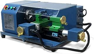 Portable Small CNC Lathe 100W 220V Aluminum Alloy Light Teaching Lathe G Code Processing Machine Tool