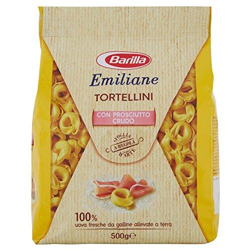 Barilla - Emiliane, Tortellini con Prosciutto Crudo - 4 pezzi da 500 g [2 kg]