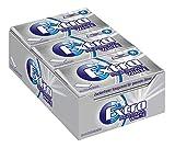 Extra Kaugummi | Professional White | Zuckerfrei | 12 Packungen (12 x 14 Mini-Streifen) -