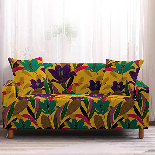 Fundas elásticas para sofá de 4 plazas, color 3