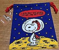 スヌーピー 巾着 宇宙飛行士
