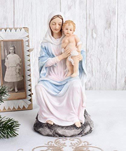 Madonna mit Jesuskind Sakrale Skulptur Mutter Gottes heilige Maria Palazzo Exklusiv