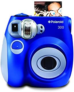 Polaroid PIC-300 - Cámara de película instantánea color azul