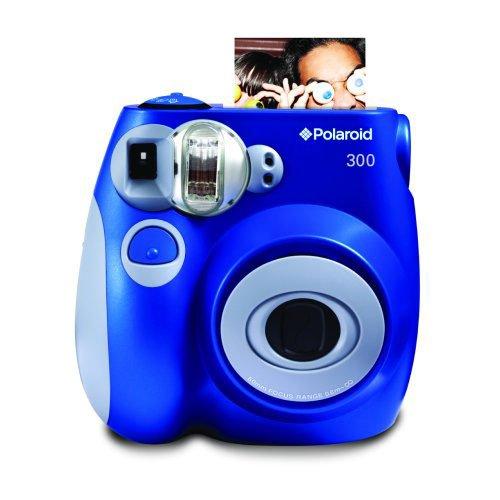 Polaroid PIC-300 - Cámara de película instantánea, color azul