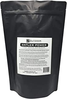 Outdoor Hunting Lab Antler Power Salt Lick Deer Minerals Whitetail Supplement Vitamin Feed Powder Attractant