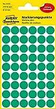 AVERY Zweckform 3143 selbstklebende Markierungspunkte 270 Stück (Ø12mm, Klebepunkte auf 5 Bogen, Punktaufkleber zur Farbcodierung, runde Aufkleber für Kalender, Planer und zum Basteln,...
