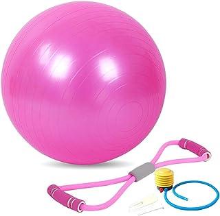 comprar comparacion Xinlie Balance Ball 45 cm 8 Palabras Tirando de la Cuerda Ocho 8 Palabras Pecho Tirando de la Cuerda Bola del Asiento Bola...