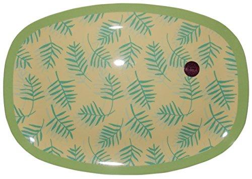 Melamin-Platte Palm Leave Print