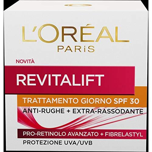 L'Oréal Paris Crema Viso Giorno Revitalift, Azione Antirughe con...