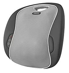 3D Shiatsu Massage kneads up and down, across and in & out Soothing heat provides added relaxation Two massage modes allow you to customize your massage experience 2 Year Guarantee Integrated controls - no searching for the remote