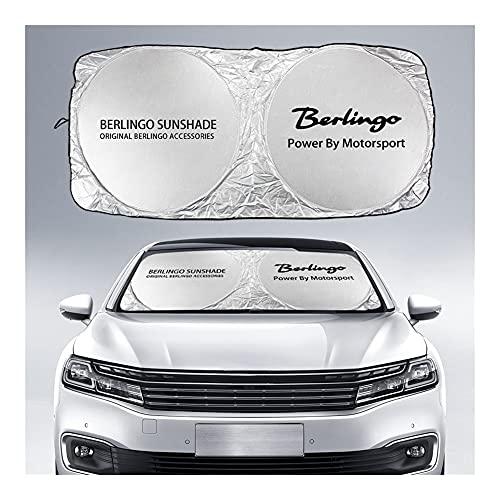 Parasol Coche Delantero Parabrisas de coches cubierta de sombra solar compatible con...