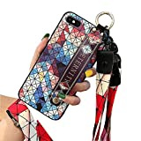 UDIKEFO iPhone 6 Plus Case | iPhone 6S Plus Case | Necklace Lanyard Hand Strap Phone Holder Case, Wrist Strap Band with Wristband Kickstand Phone Cover for iPhone 6Plus & iPhone 6S Plus 5.5 inch