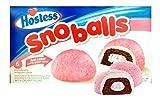 Hostess Pink Snoballs - 6 Idividually Wrapped Cakes - Snowball
