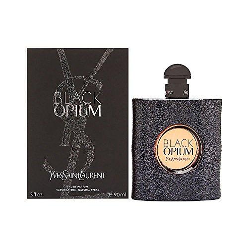 YVES SAINT LAURENT BLACK OPIUM - Agua de perfume vaporizador para mujer, 90...