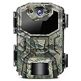 Victure Wildkamera 16MP 1080P Full HD Leichtes Glühen Infrarot Nachtsicht Bewegungsmelder und Upgrade Wasserdichtes Design für Jagd, Überwachung von Eigentum und Tieren